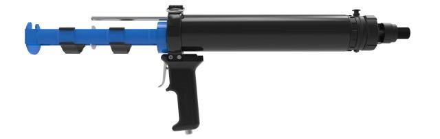 AirFlow 1 CBA 330B  2-component pneumatic caulking gun