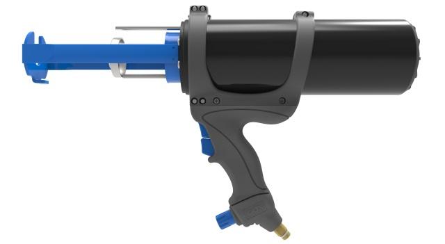 AirFlow 1 CCA 380A 2-component pneumatic caulking gun