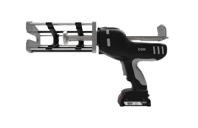 ElectraFlow™ Dual Ultra  400 MR 2-component battery caulking gun