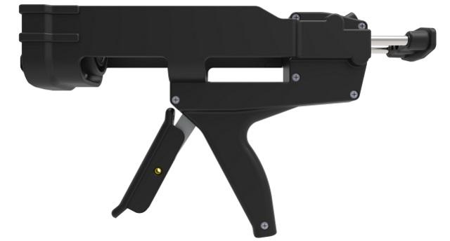 2-component manual gun