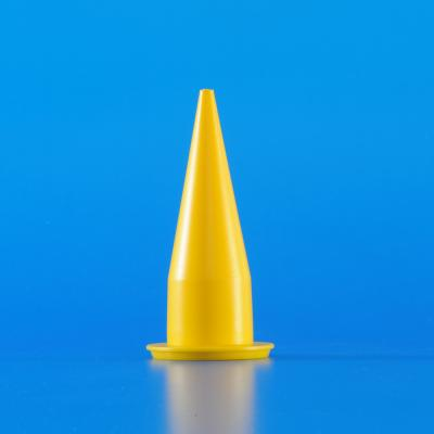 Yellow Cone Nozzle 2N1006 for sealant and adhesive grouting application